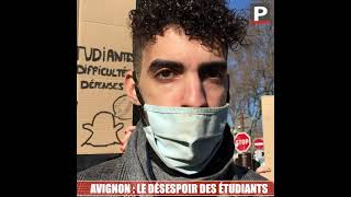 Avignon : le désespoir des étudiants