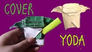 How to make an Origami Cover Yoda - Folding All the Star Wars Characters Episode #1