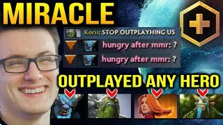 MIRACLE: How to Outplay any Hero with Morphling Dota 2 Plus 7.10