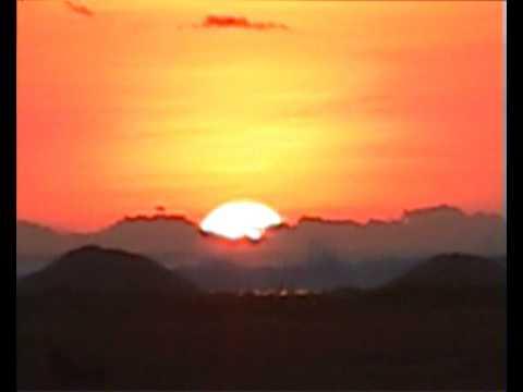 インドネシア最南端ロテ島のサンセット Sunset at Nembrala Coast, Rote Islsnds