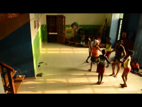 Hungarian folk dance in Sao Tomé -  RED 2.0 project