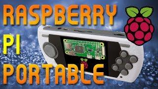 Retro Raspberry Pi Zero Portable (Thousands of games!)