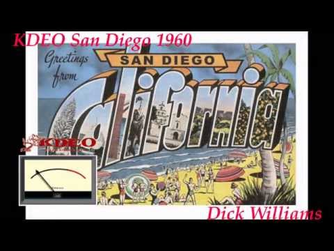 Dick Williams 1960 KDEO San Diego