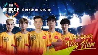 ???? PUBG Nations Cup Seoul 2019 - Ngày 1