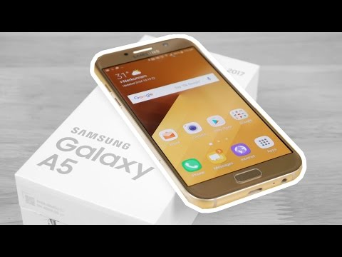 Samsung Galaxy A5 2017 - Unboxing & Hands on