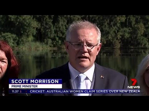 Scott Morrison thanks Julie Bishop and says his government is 'a very clear and stable team'