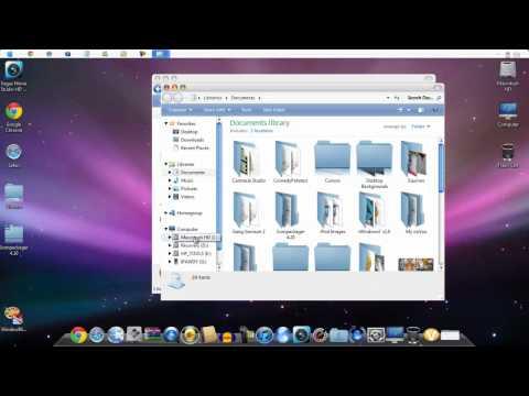 How To Make Windows 7 Look Like A Mac Tutorial