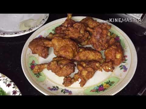 Schezwan Chicken Lollipop By Food Lab Youtube