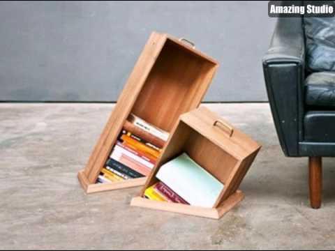 Designermöbel selbst bauen  Möbel Selbst Bauen Bücherregale - YouTube