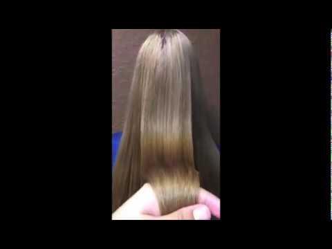 Выпрямление волос кератином Ботокс волос Акция