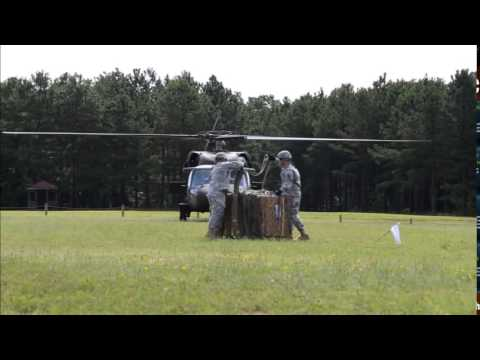 Basic Officer Leader Course Sling Load Training