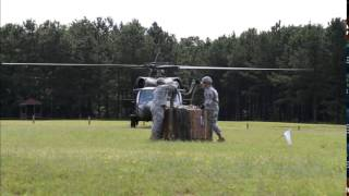 Basic Officer Leader Course Sling Load Training