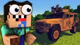 НУБИК ВОВОЧКА НАШЕЛ МАШИНУ С ПУХОЙ В Майнкрафт   Жизнь НУБИКА В Minecraft Ловушка ДОМ Вовочка и Нуб