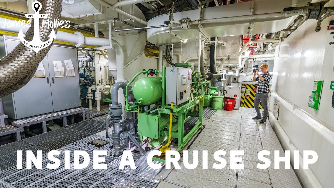 WHAT'S INSIDE A CRUISE SHIP - Holland America ROTTERDAM ...