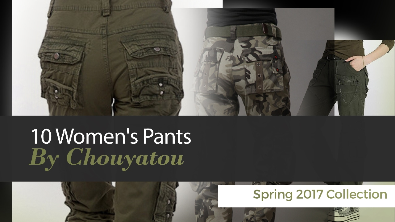 f27adc88645 10 Women s Pants By Chouyatou Spring 2017 Collection - YouTube