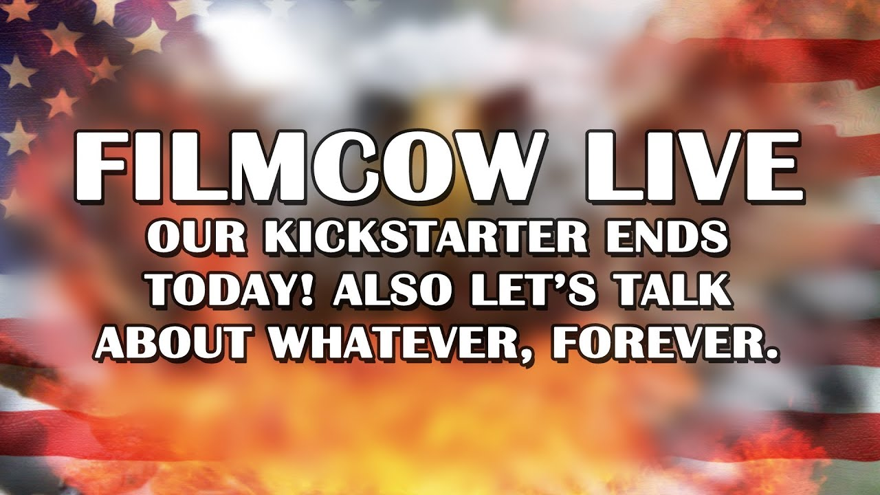 """FilmCow Live - December 5th, 2013 - Come chat with us about our videos, and the end of the """"Detective Heart of America"""" feature film we're Kickstarting."""