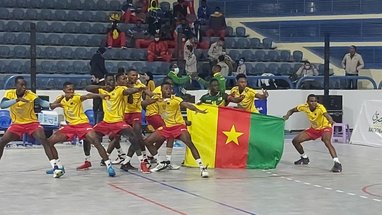 Download Strong spirited display from Cameroon to grab their first win