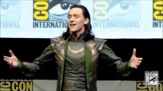 [THAISUB] Tom Hiddleston as Loki  SDCC 2013 Comic Con