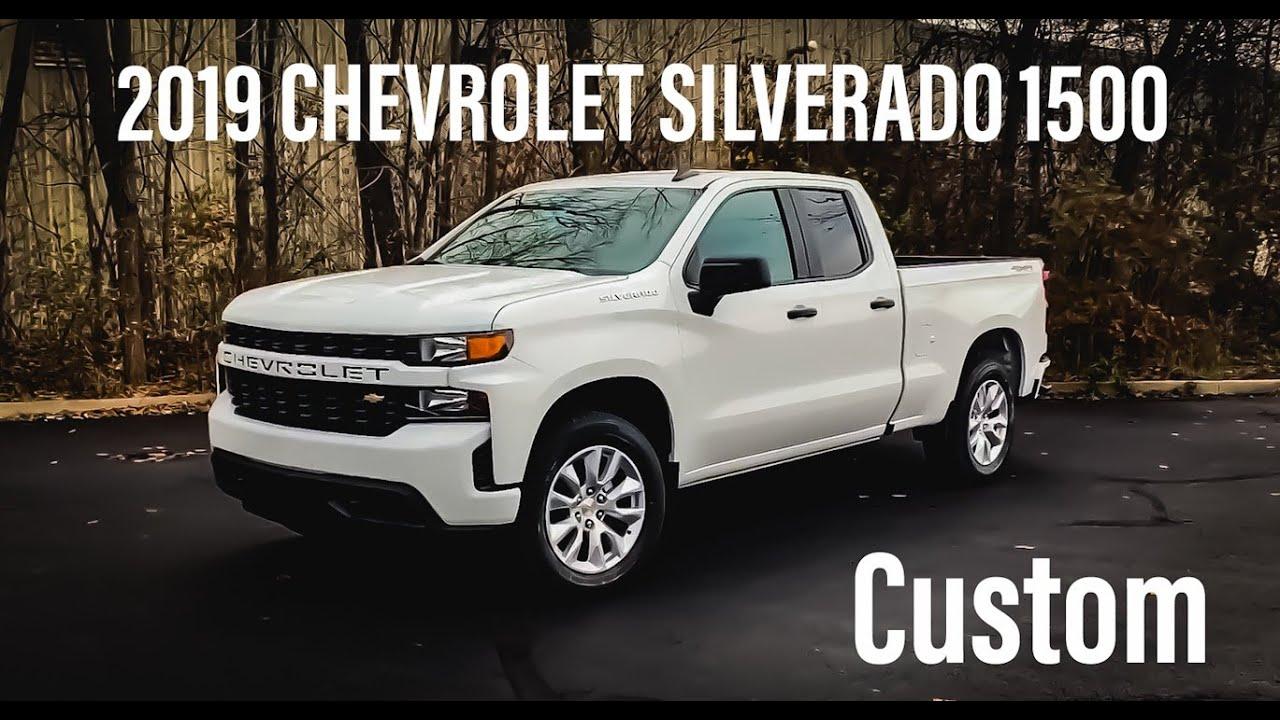 2019 Chevrolet Silverado 1500 Custom Double Cab Review And Walkaround