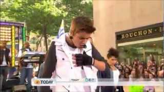 justin bieber feat big sean as long as you love me today show 2012
