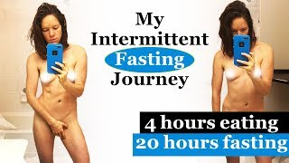 Intermittent Fasting || eating 4 hours a day for 4 months