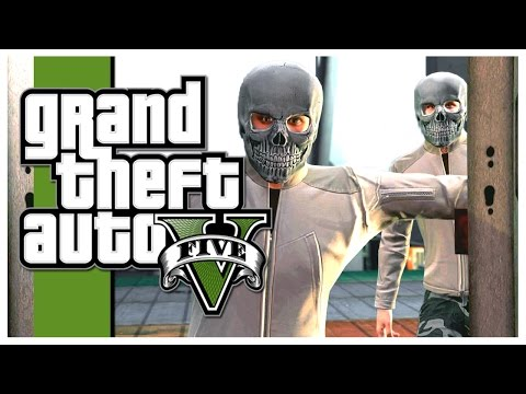 GTA 5 - WHO IS DRIVING?! (Grand Theft Auto V Heists)