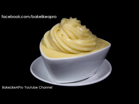 Easy Yummy Vanilla Pastry Cream Recipe