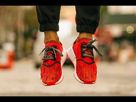 3def4a10f9d95 The NYC red APPLE NMD IS HERE!! - YouTube