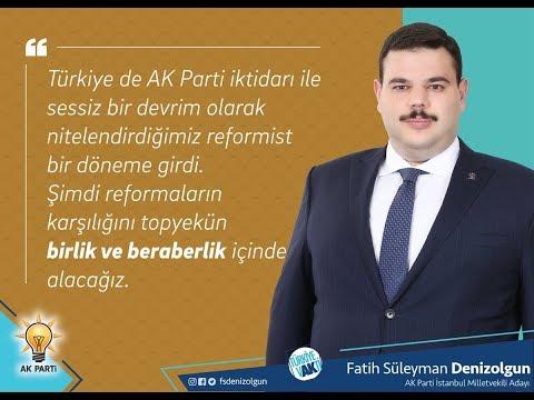 Fatih Süleyman Denizolgun kimdir, Süleymancı mıdır? AK Parti millet vekili adayı mıdır?