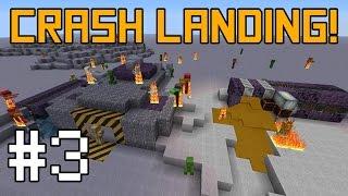 Minecraft Crash Landing - Water Crisis! #3