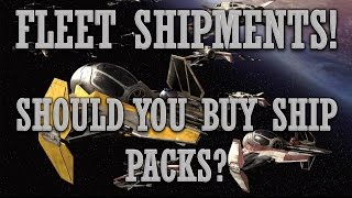 SHIPS! Pack Opening and Fleet Shipments!