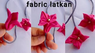 How to make fabric latkan at home/ Fabric latkan Making/ simple & easy method/ latkan making at home