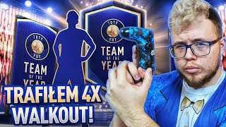 FIFA 19 | PIERWSZY TOTY PACK OPENING ZA 24K FIFA POINTS! 4x WALKOUT!