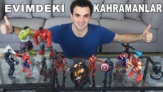 Evimdeki Tüm Süper Kahramanlar - Favoriniz Hangisi? | Süper Oyuncaklar