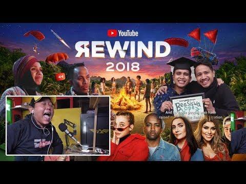 YOUTUBER INDONESIA MASUK YOUTUBE REWIND DUNIA ,YouTube Rewind 2018 Reaction ( subtitle indonesia ) Mp3