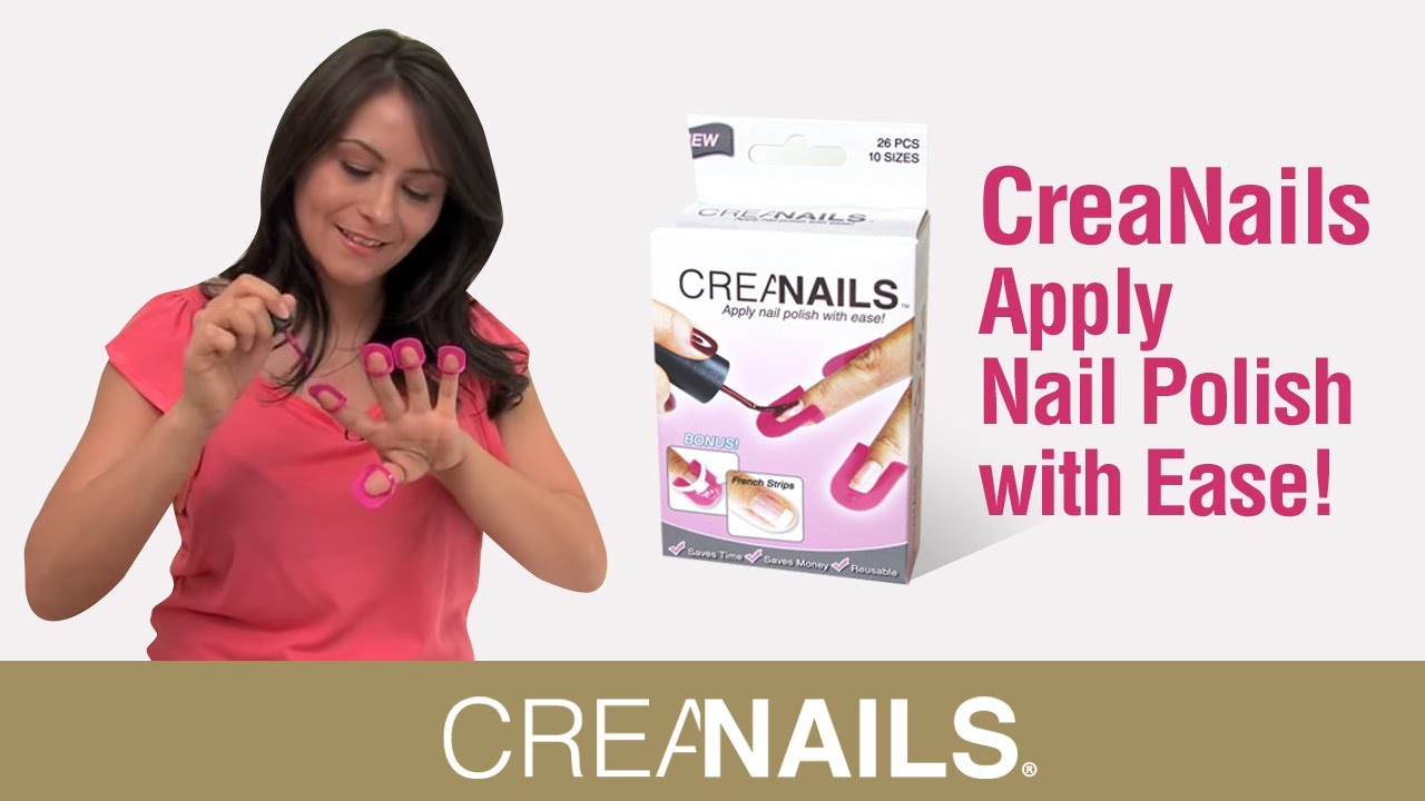 CreaNails How to paint your nails at home ! DIY Perfect nails! - YouTube