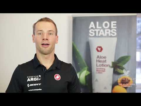 Profi-Triathlet Stefan Schmid  Aloe Heat Lotion