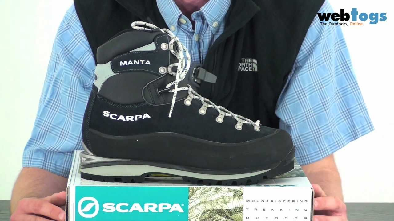 Classic Scarpa Mountaineering Winter Manta Uk For And Boots qq6gwRnf
