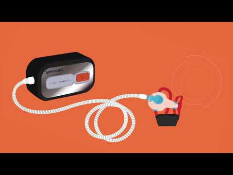 VirtuClean cpap cleaning system, for cpap mask, tubing, accessories.