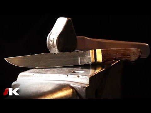 Fabrication d'un couteau en Damas (par Philippe Neige) [2/2]