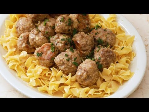 Swedish Meatballs- Martha Stewart