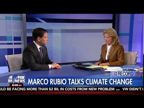 Marco Rubio says the Climate is always Changing