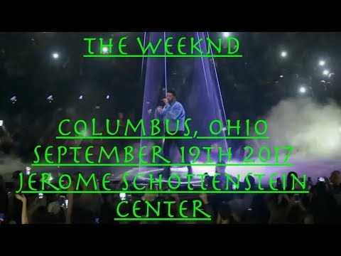 """The Weeknd Live Columbus, Ohio """"Starboy"""" 09-19-2017 _ [HD-SUPER QUALITY 3CAM!]"""