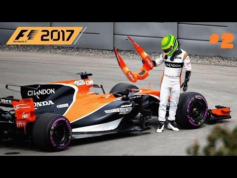 F1 2017 //  🇨🇳 S01R02: CHINA-SHANGHAI // McLAREN HONDA KARRIER