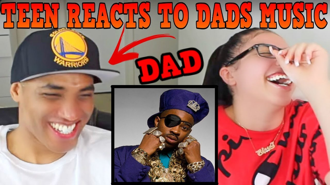 Teen Daughter Reacts To Dad's 80's Hip Hop Rap Music   Slick Rick - Mona Lisa REACTION