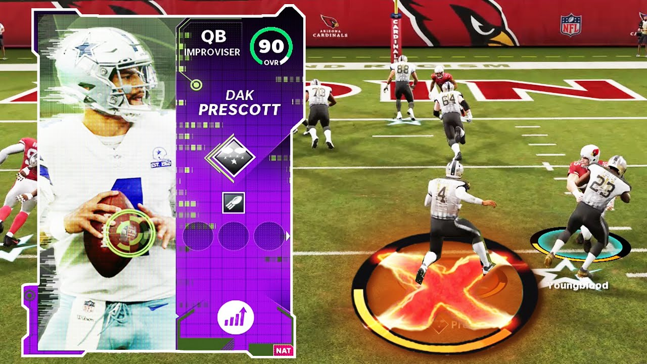 Dak Prescott Is Unstoppable Madden 21 Gameplay Youtube