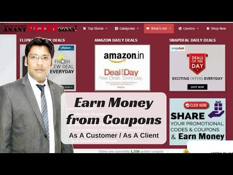 How To Earn Money From Coupons As A Client Or Customer