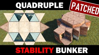 Quadruple Bunker - 4 Separated Stability Bunkers Opened from One Single Basement