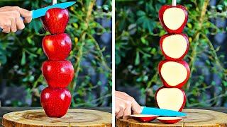 멋진 디저트를 위한 맛있는 과일과 베리 팁