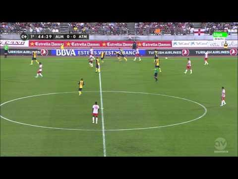 Wellington Silva vs Atlético Madrid ( 24-09-2014)